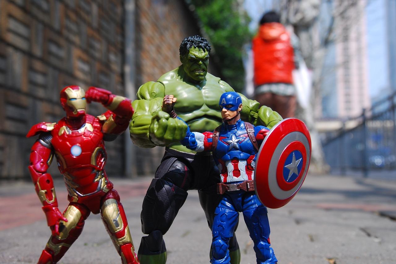 Les superhéros d'aujourd'hui