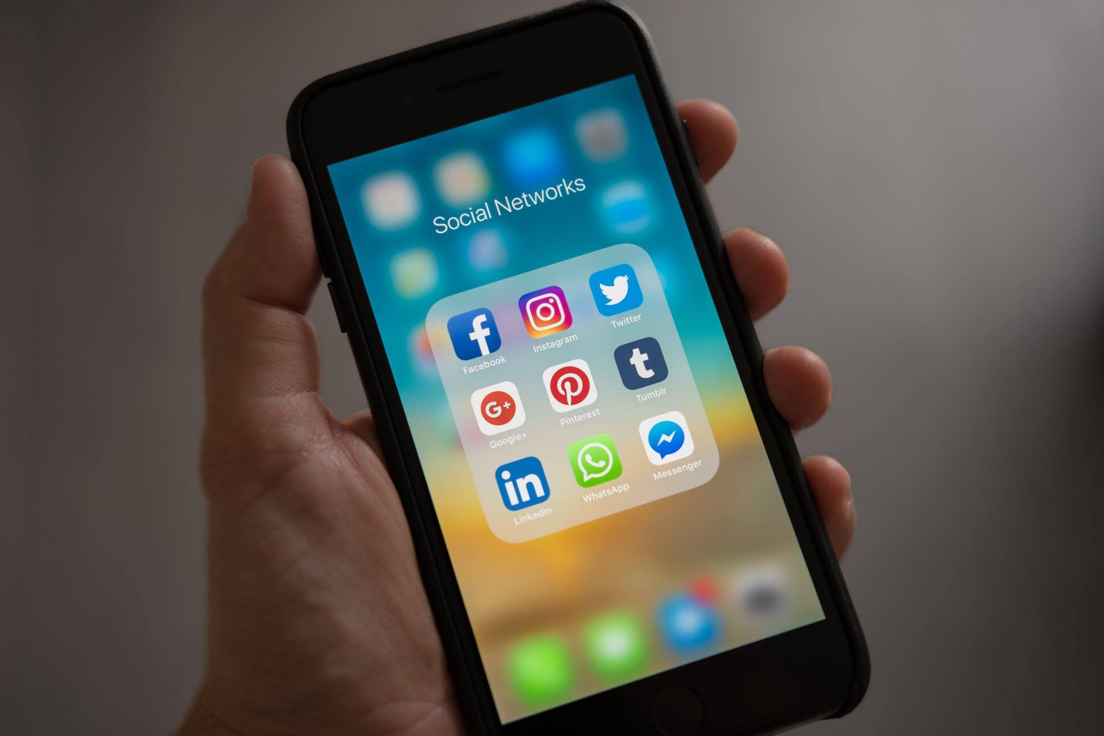 réseau social et société